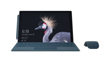 Microsoft Surface Pro (5ème gen.) Intel Core m3Tablette Windows Surface Pro Intel HD Graphics 13,50 Heure(s) Carte SIM Nano microSDXC 12,3 pouces 1 x Mini Display Intel Core 4G LTE 1 x USB 3.0 1 x Casque (Jack 3.5mm Femelle) 4 Go 128Go Windows 10 Professionnel Intel Core M3-7y30