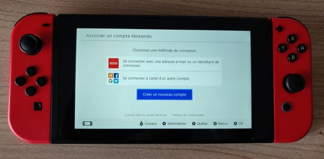 nintendo switch clubic compte
