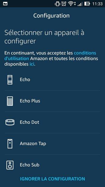 configuration echo