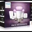 Pack Philips E27 White & Colors + Pont Hue + Détecteur + 2 Variateurs