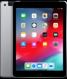 """Apple iPad 9.7"""" Wi-Fi + Cellular 32Go Gris sidéral9,7 pouces iPad 2 Go 10 Heure(s) iOS 2048 x 1536 LED Tactile Lightning Apple A10 Apple A10 Fusion 1 x Casque (Jack 3.5mm Femelle) iOS 12 32Go Carte SIM Nano"""
