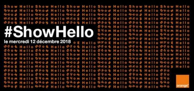 Orange Show Hello