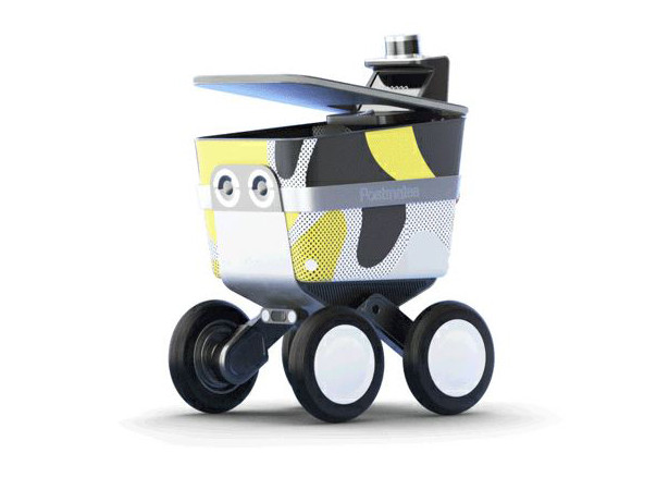 Postmates robot Serve