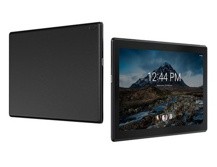 Lenovo TAB 4 10 (WiFi) - Noir10,1 pouces 2 Go Micro SD Android Tablette 1280 x 800 1,40 GHz HD Qualcomm Snapdragon Android 7.0 Nougat IPS MSM8917 20 heures 506 g Wifi 32Go
