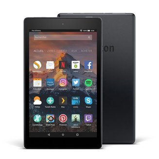 Amazon Fire HD 8 16GoWifi 8 pouces Micro SD Micro SD High Capacity (Micro SDHC) Android 1280 x 800 Android 4.2.2 Jelly Bean 10 Heure(s) 1,30 GHz 360,0 g Quad Core microSDXC Bluetooth 4.2 16Go 1,5 Go