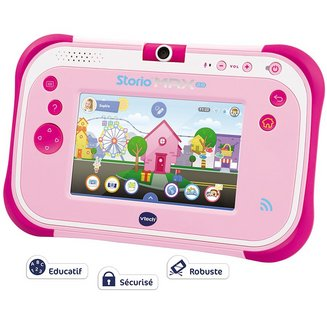 Vtech Storio Max 2.0 RoseUSB 8Go Micro SD Android Android 4.1 Jelly Bean 5 pouces