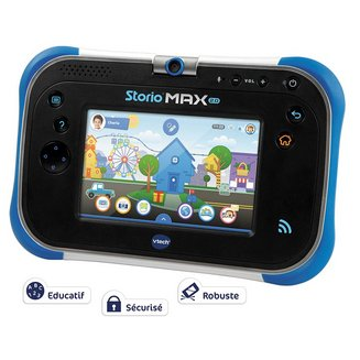Vtech Storio Max 2.0 BleuUSB 8Go Micro SD Android Android 4.1 Jelly Bean 5 pouces
