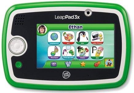 Leapfrog LeapPad 3x VerteWifi 4Go 1 GHz 5 pouces
