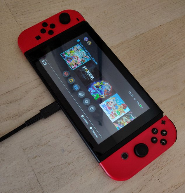 switch charge usb