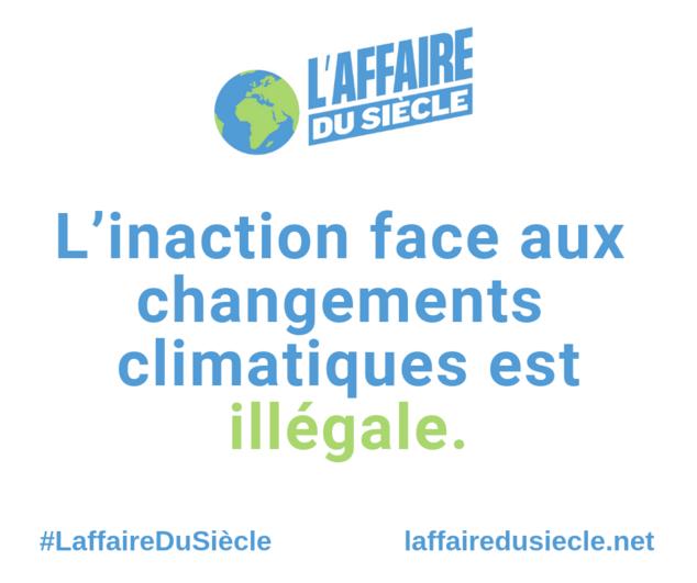 L'Affaire du Siècle écologie climat
