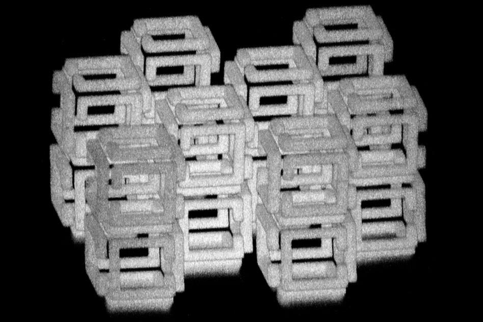 MIT fabrication par implosion objets 3D nanoscopique