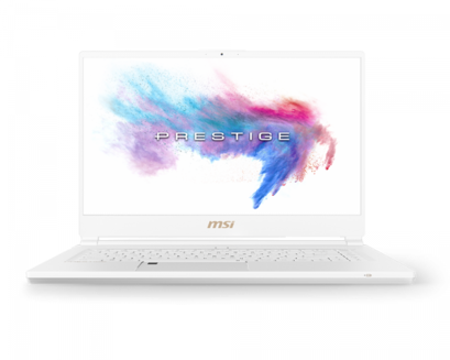 MSI P65 Creator 8RF (White Limited Edition)512 Go 1920 x 1080 Intel Core i7 4 Cellules Ultrabook Oui 15,6 pouces Ultrabook 32 Go 1,88 kg IEEE 802.11ac NVIDIA GeForce GTX 1070 blanc Intel Core i7-8750H Hexa Core Bluetooth 5.0 16 Go Windows 10 Professionnel 64 bits