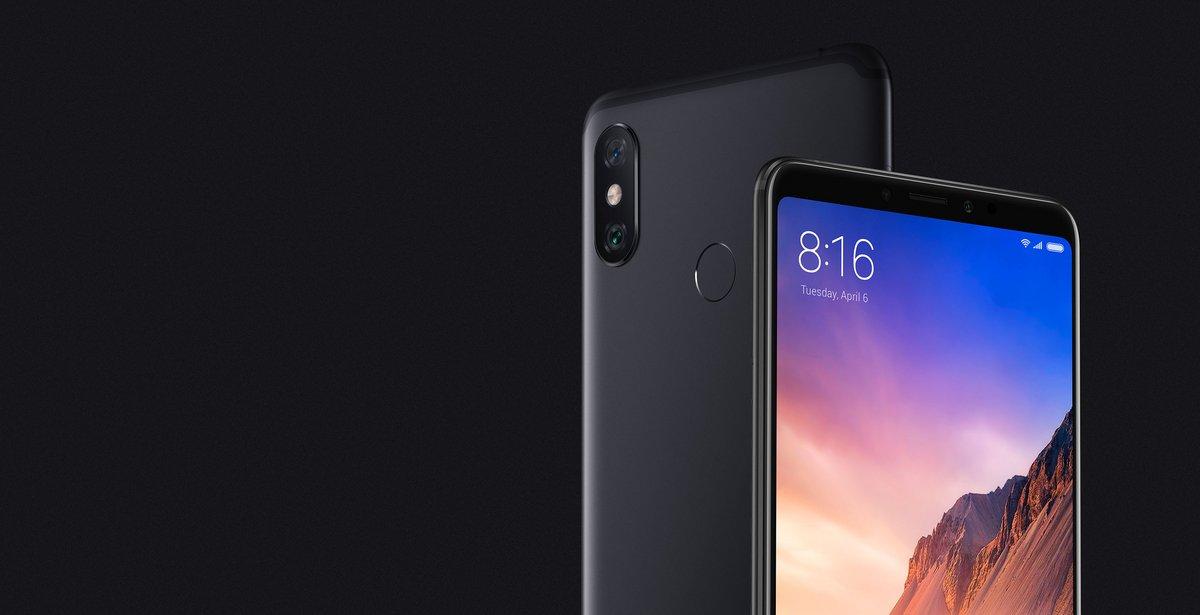 Xiaomi Mi Max 3 front