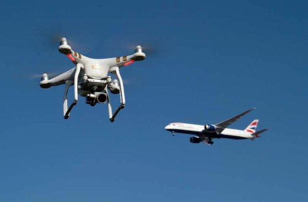 aéroport gatwick drones
