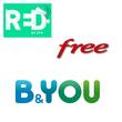 Free, RED et B&You : le top 3 des forfaits sans engagement