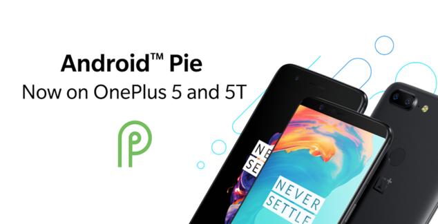 oneplus 5 android pie