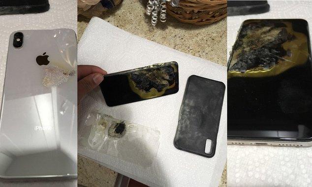 iphone xs max burns