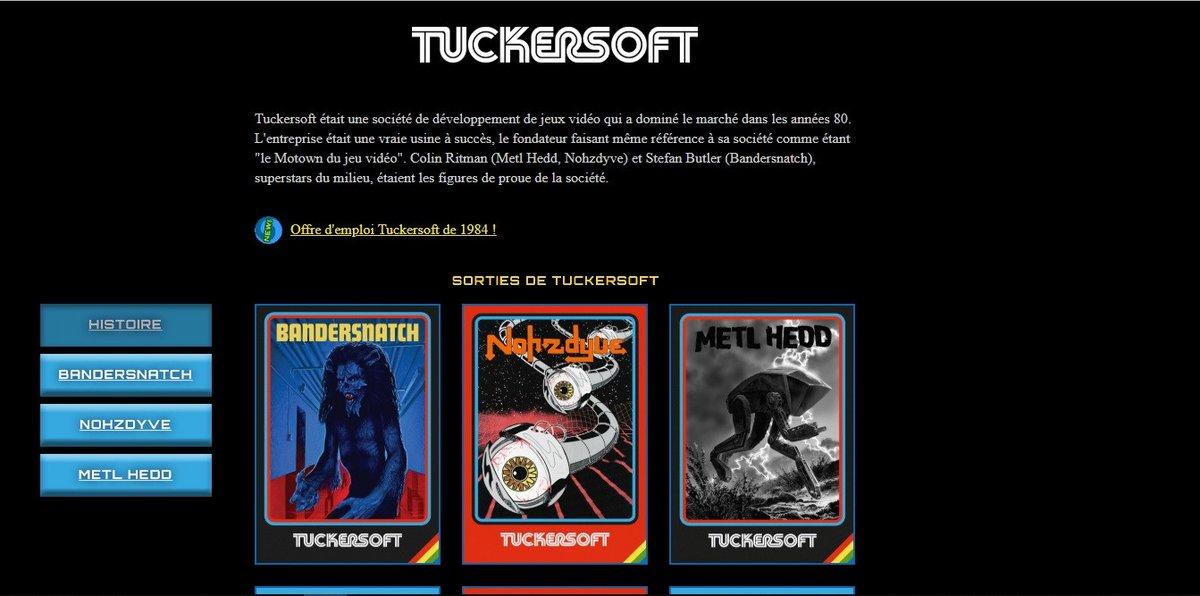 Black Mirror Bandersnatch Tuckersoft
