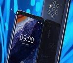 Le Nokia PureView 9 et ses 5 appareils photo se montre avant le CES