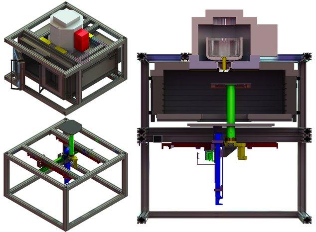 G3DP2 impression 3D verre