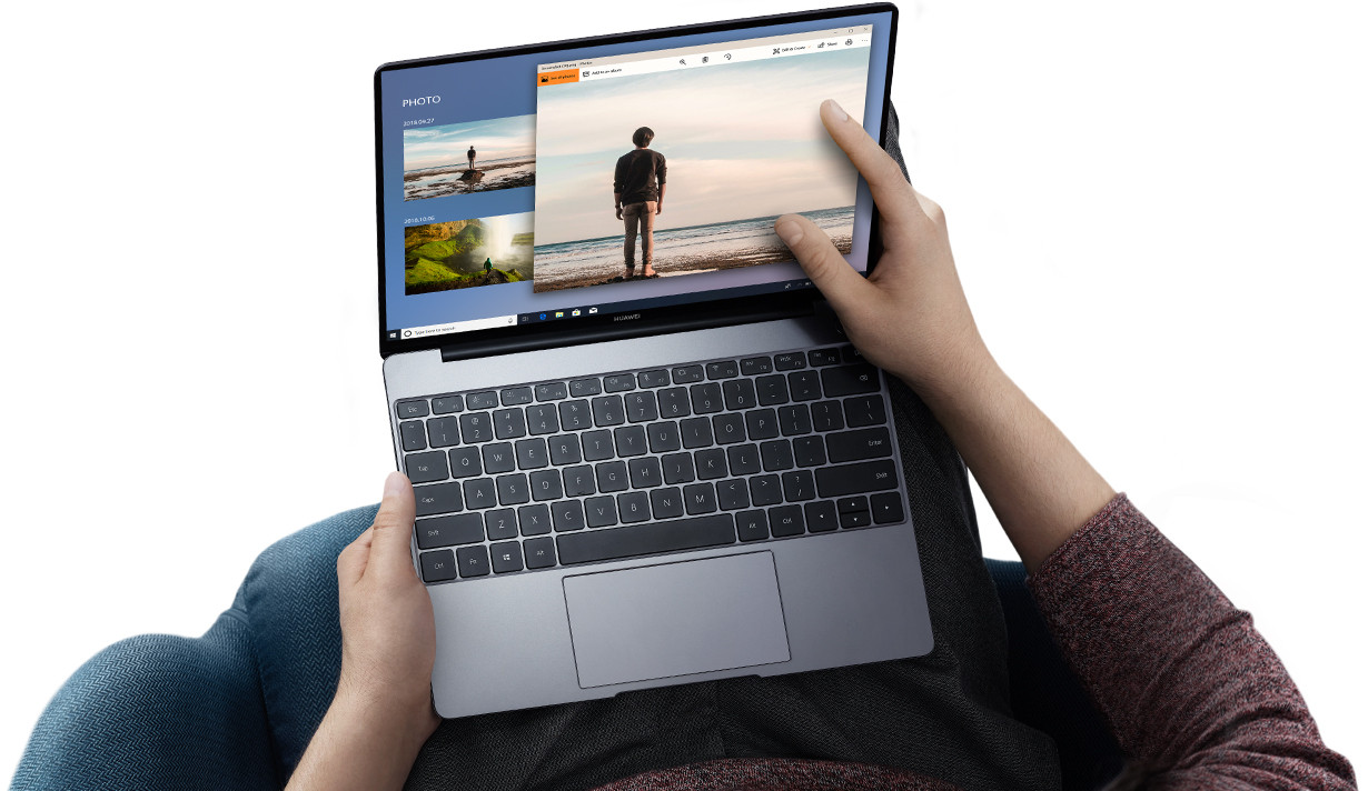 Huawei officialise le MateBook 13, un ordinateur milieu de gamme que la  marque chinoise présente comme un concurrent direct du MacBook Air 2018  d Apple. 978517b20bd9