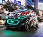 CES 2019 - Mercedes présente un véhicule autonome électrique à la fois taxi et... livreur