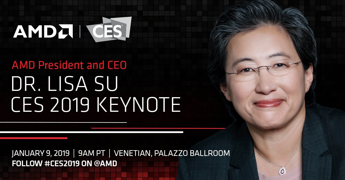 Conférence AMD CES 2019