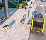 CES 2019 - Continental dévoile un véhicule autonome muni de robots-chien-livreur de colis
