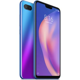Xiaomi Mi 8 Lite Aurora Blue 4 Go/64 GoMonobloc 2G (GPRS) avec flash 3G avec autofocus avec écran tactile 3G+ 3G+ 3G++ avec stabilisateur d'image avec détection des visages avec correction des yeux rouges Android téléphone double SIM 169 g 64 Go avec flash LED 4G LTE Smartphone Double SIM 4G 4 Go 2,20 GHz Tactile Bluetooth 5.0 Compact 3G HSDPA+ 2G 4G+ Qualcomm Snapdragon 660 Octo-core Mi 8 6,26  pouces Bleu