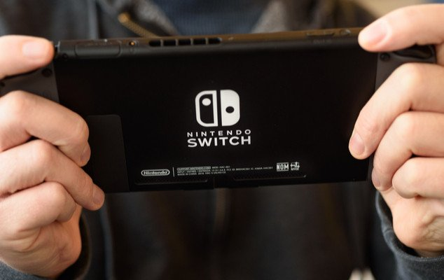 nintendo switch jeu joueur