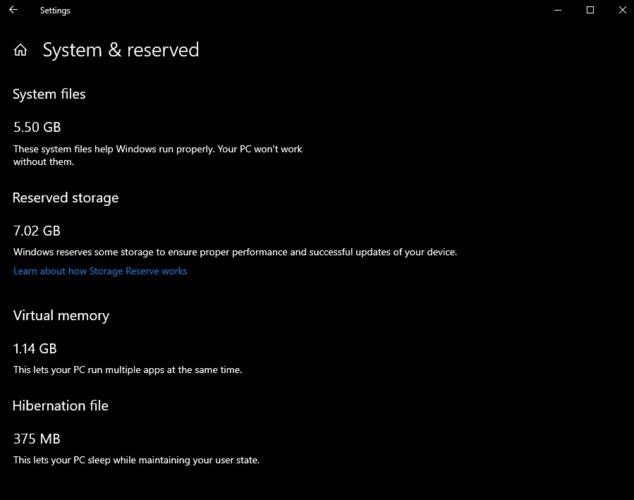 Windows 10 va bloquer 7 Go d'espace de stockage pour les mises à jour