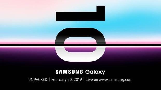 Galaxy S10 keynote
