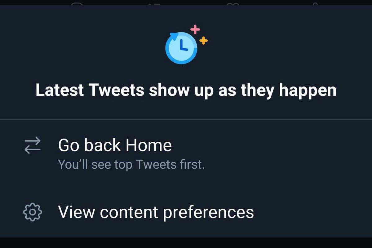 Twitter Chronologique Android