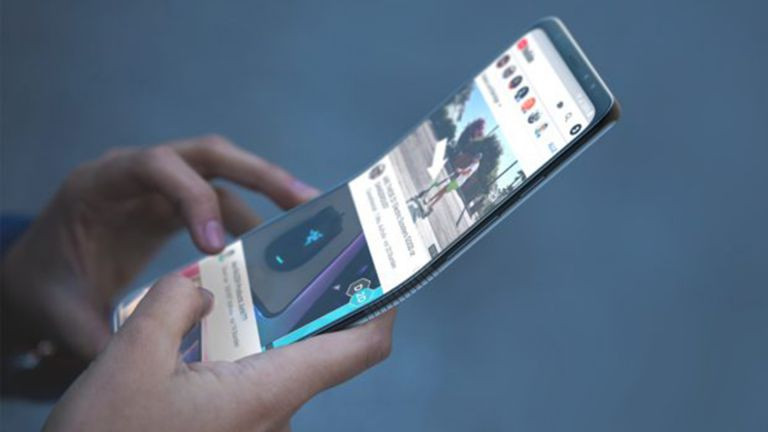 Motorola smartphone pliable