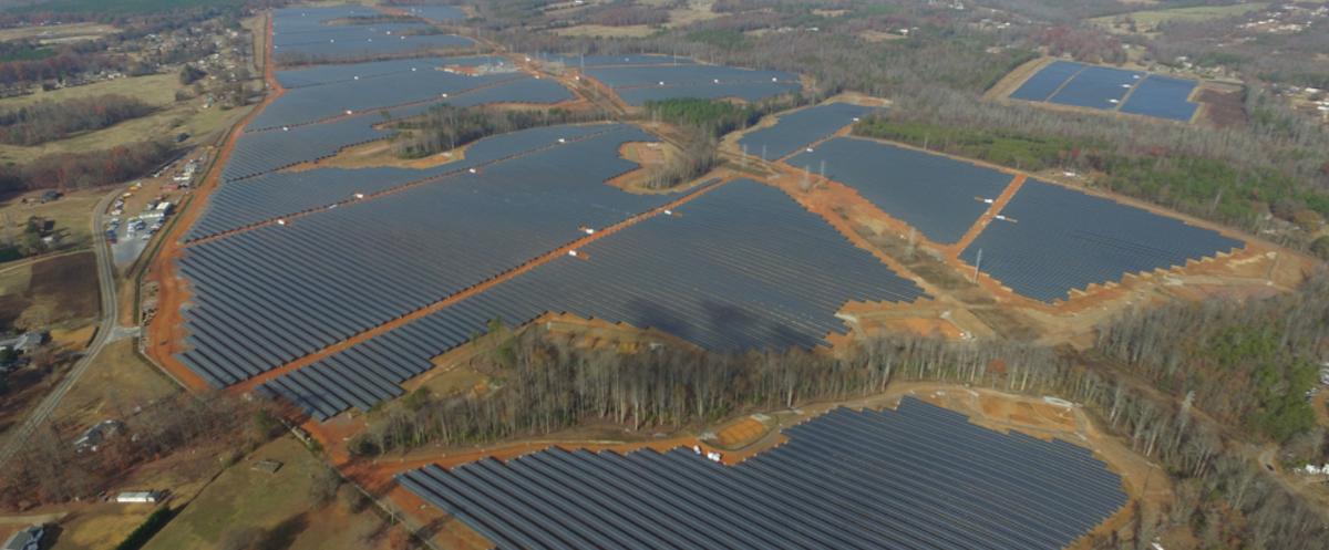 Google parc solaire
