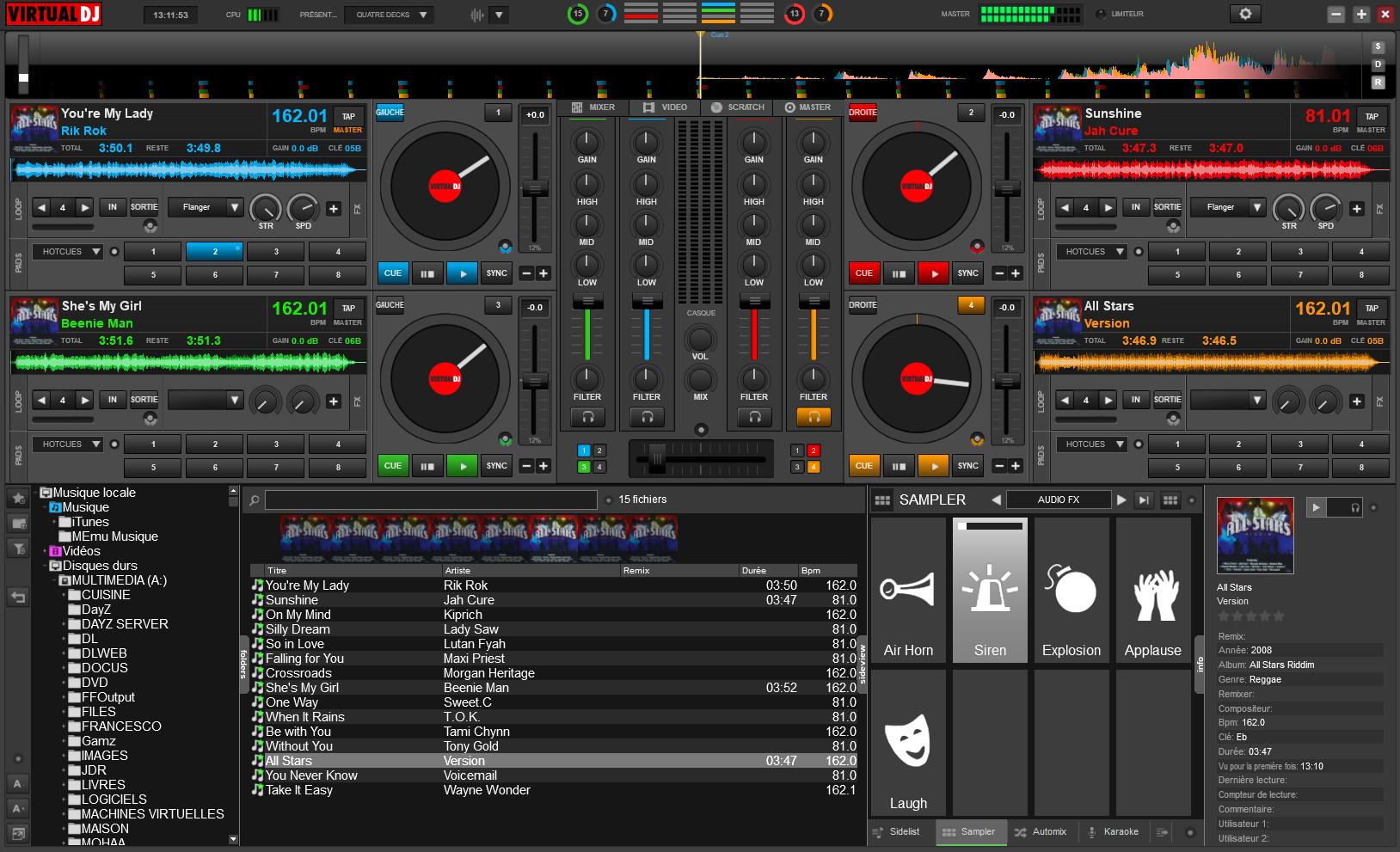 SUR CLUBIC TÉLÉCHARGER DJ VIRTUAL 2011