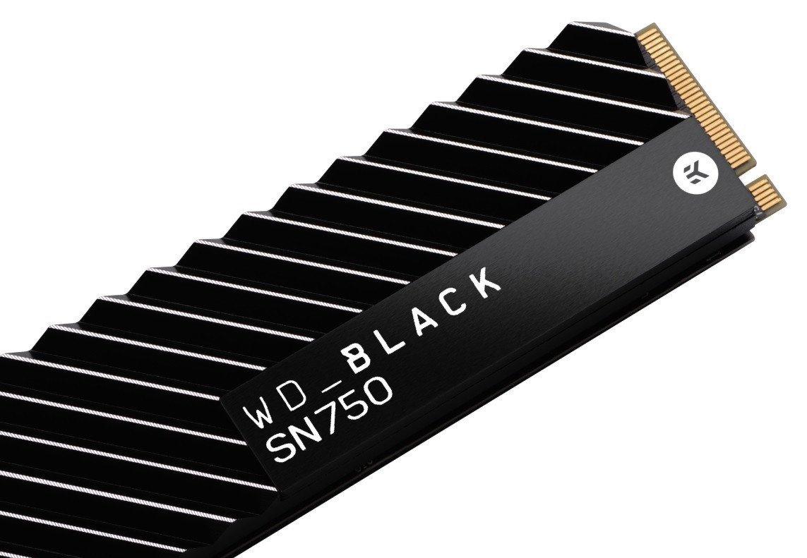 ssd western digital black sn750