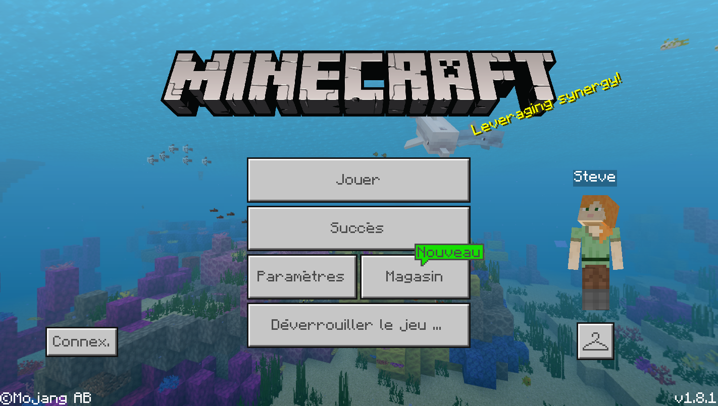 telecharger minecraft pe derniere version