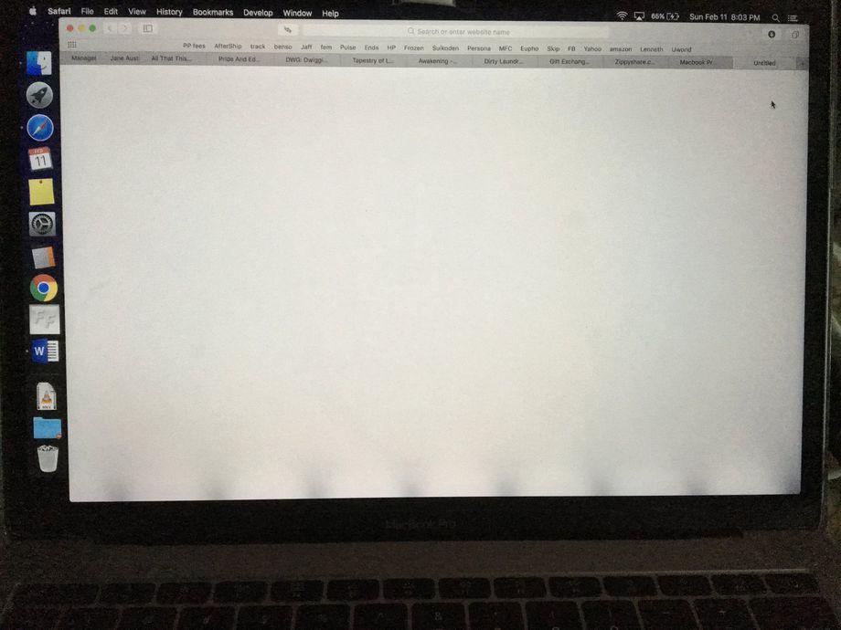 MacBook Pro rétroéclairage