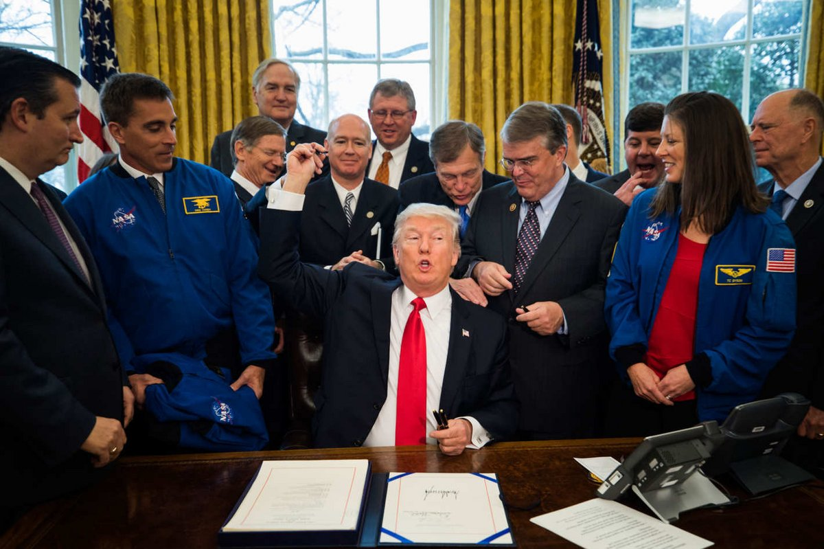 Donald Trump NASA