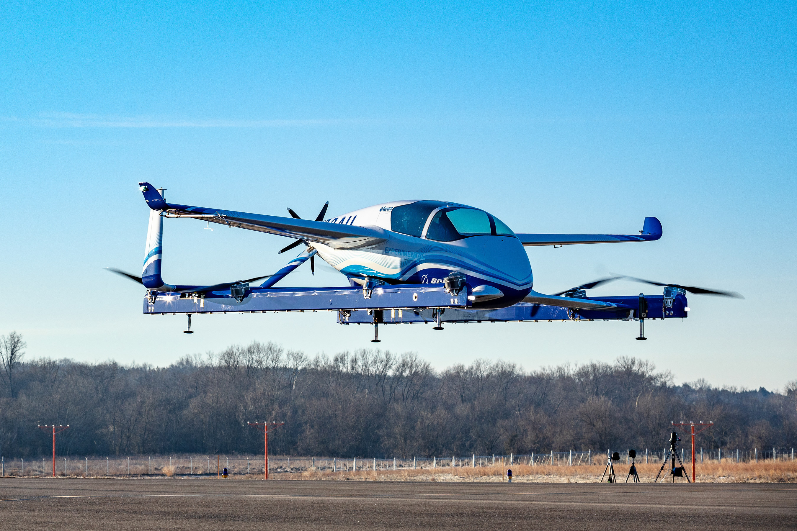 Boeing effectue le premier vol de son véhicule aérien autonome pour passagers