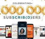 Scribd, le « Netflix du livre », atteint le million d'abonnés