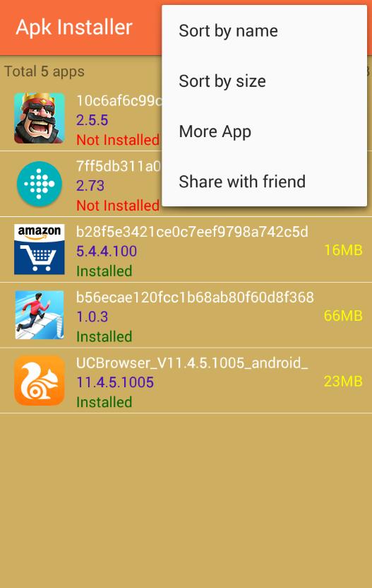 Télécharger APK Installer pour Android : téléchargement gratuit !