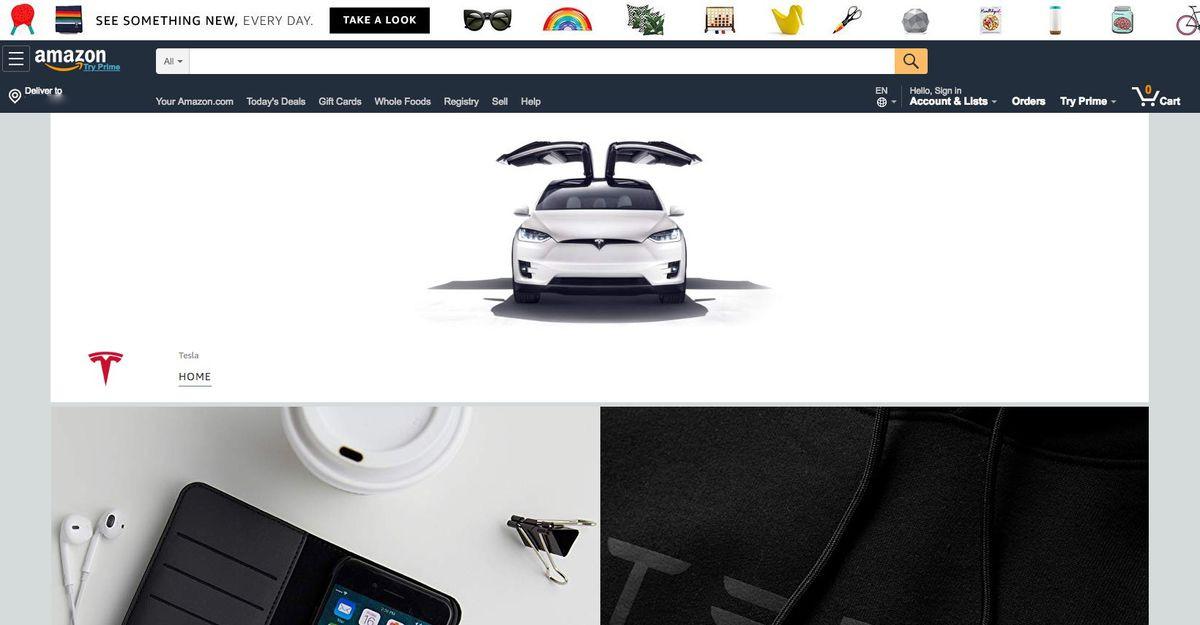 Tesla Amazon
