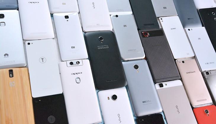 Répartition smartphone