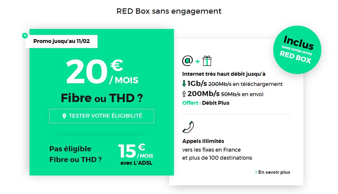 red box février