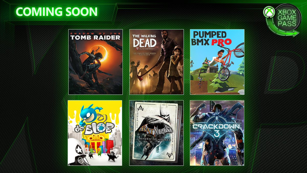 Xbox Game Pass février 2019