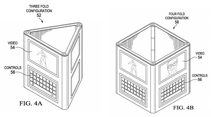 Dell ordinateur pliable 4 écrans