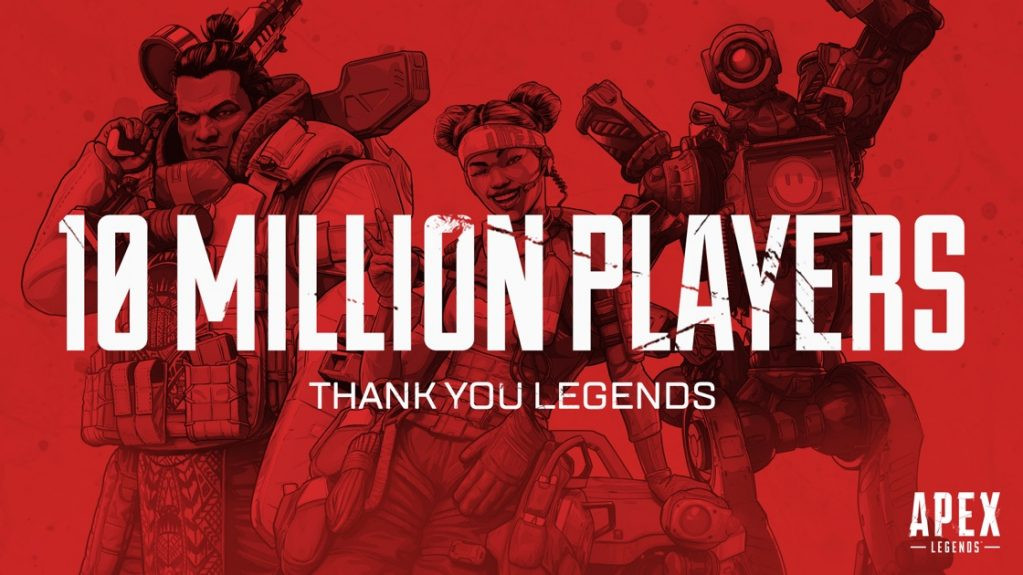 Apex Legends 10 Millions