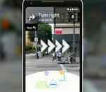 Google Maps bientôt en réalité augmentée